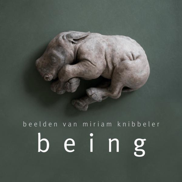 Omslag Being - Beelden van Miriam Knibbeler